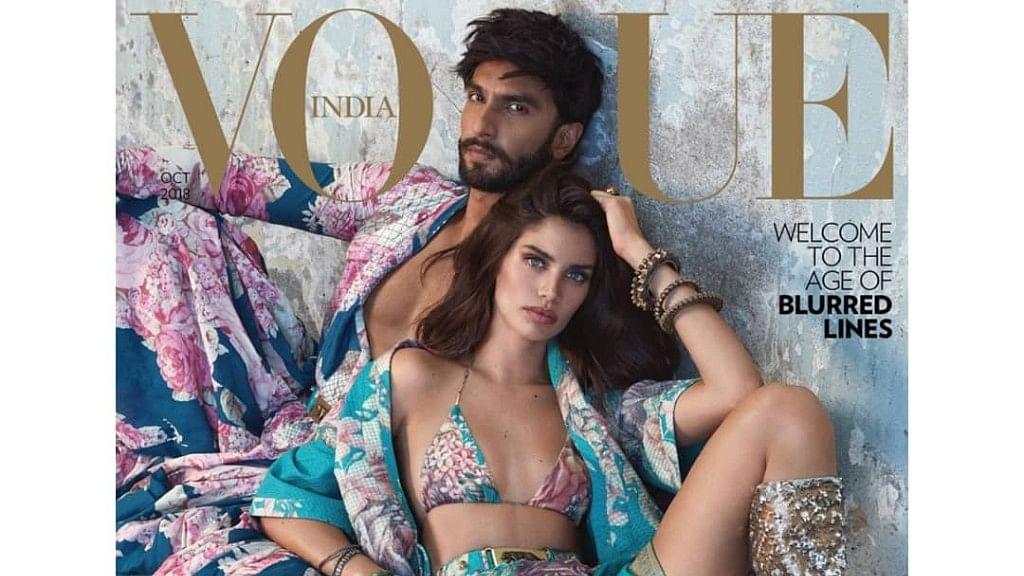 Ranveer Singh and Sara Sampaio on the