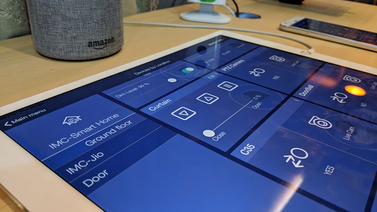 Control all the sensors via apps on mobile or tablet.