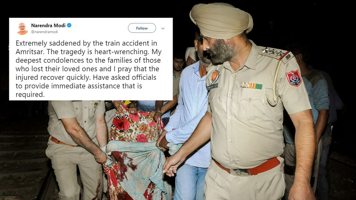 Amritsar Train Accident a Heart Wrenching Tragedy, Says PM Modi