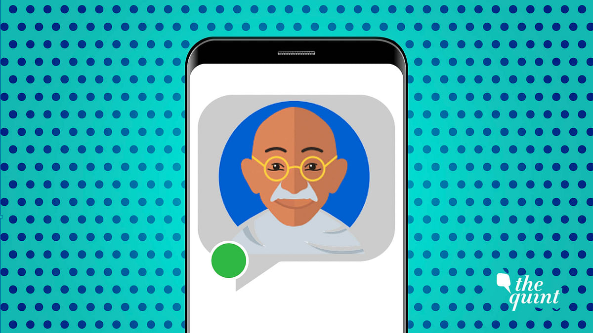 Hey Bapu ji: Interview Mahatma Gandhi in This Interactive Chat App
