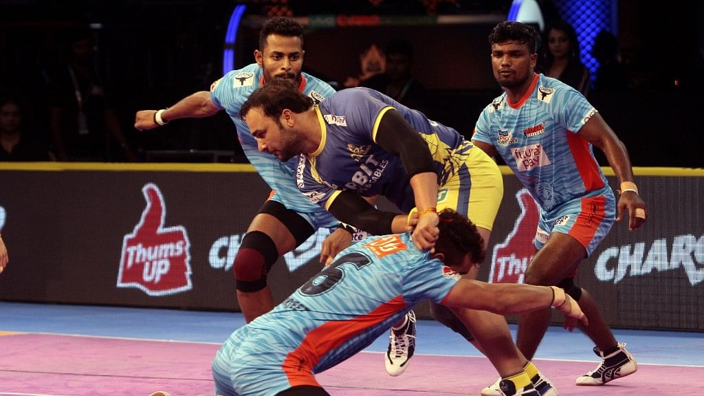 Thakur had piled up 54 points in four matches, the best start he has ever had to a Pro Kabaddi campaign.