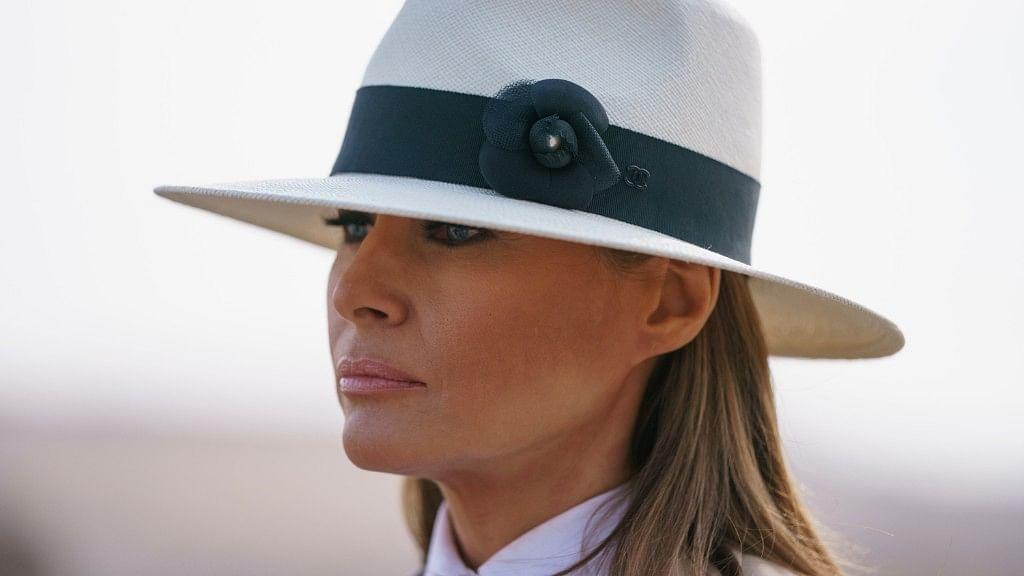 File photo of US First Lady Melania Trump