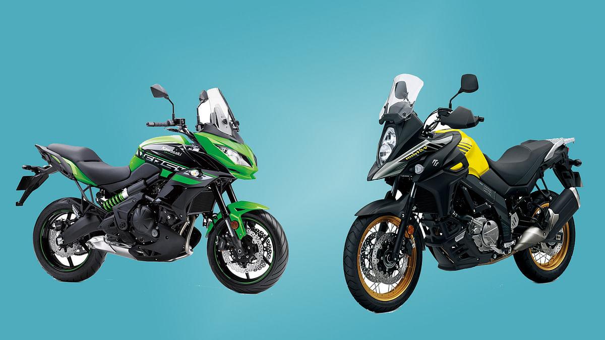 Big Adventure 650 Bikes: Kawasaki Versys or Suzuki V-Strom 650 XT