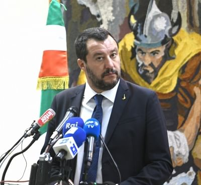 Italian Interior Minister Matteo Salvini. (Xinhua/Adele Ezzine/IANS)