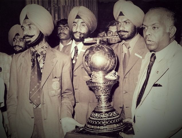 Balbir Singh was the manager of the Indian team that won the Hockey World Cup in 1975.