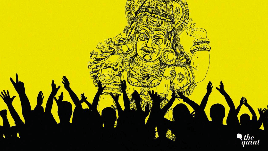 What do followers of Mahishashur eat, or offer during the period of Navratri?