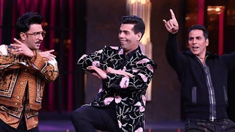 The next episode of Koffee With Karan 6 features Akshay Kumar and Ranveer Singh.