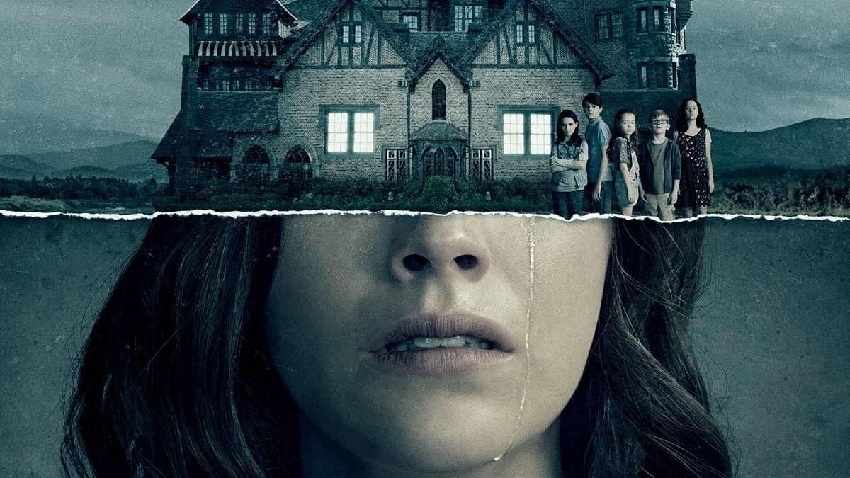 A poster for <i>The Haunting of Hill House</i>.&nbsp;