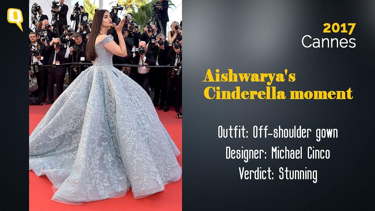 Cannes 2017: Aishwarya Rai Bachchan the Disney princess.