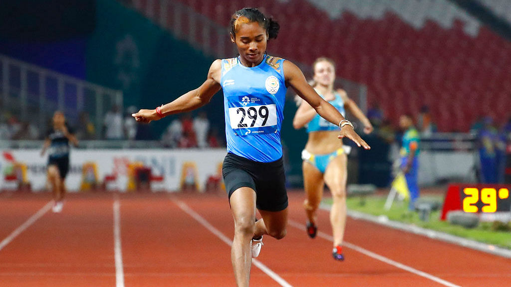 Hima Das Ruled Out of Athletics World Championship Due to Injury