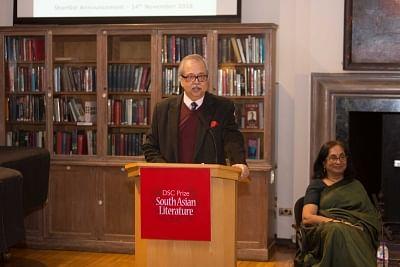 Rudrangshu Mukherjee, Jury Chair of the DSC Prize 2018.