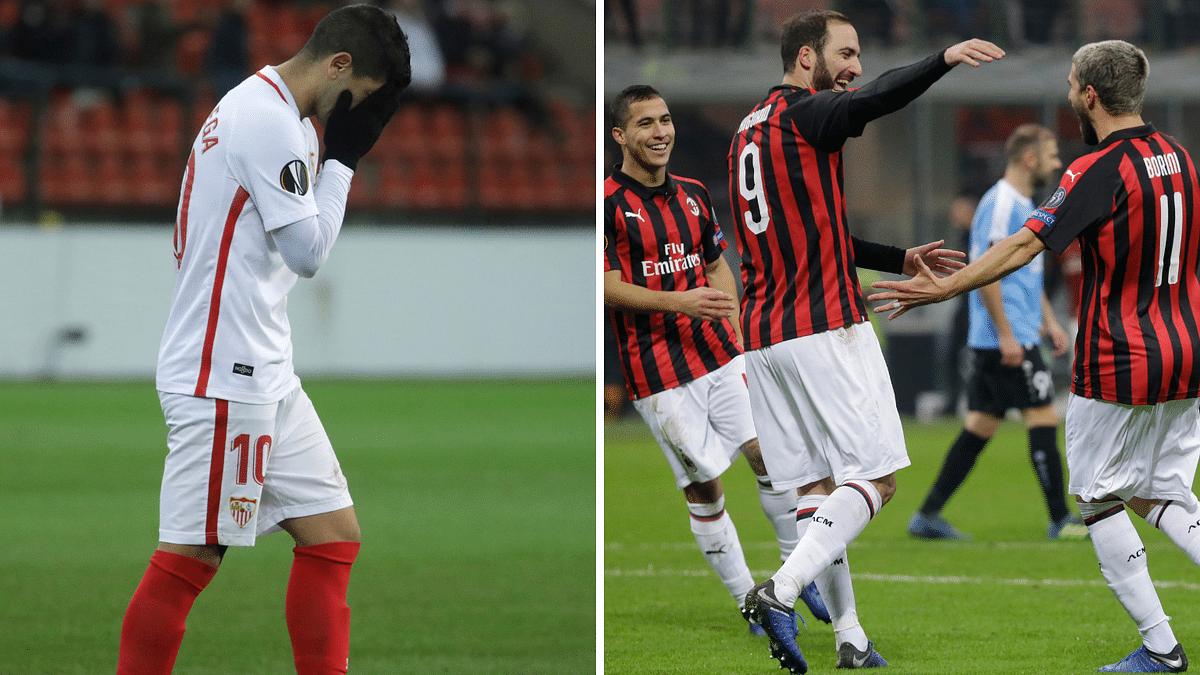 Europa League: Milan Survive Big Scare, Surprise Loss For Sevilla
