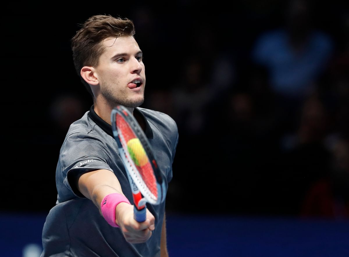 Austrian Dominic Thiem is facing a third straight round-robin exit at the ATP Finals
