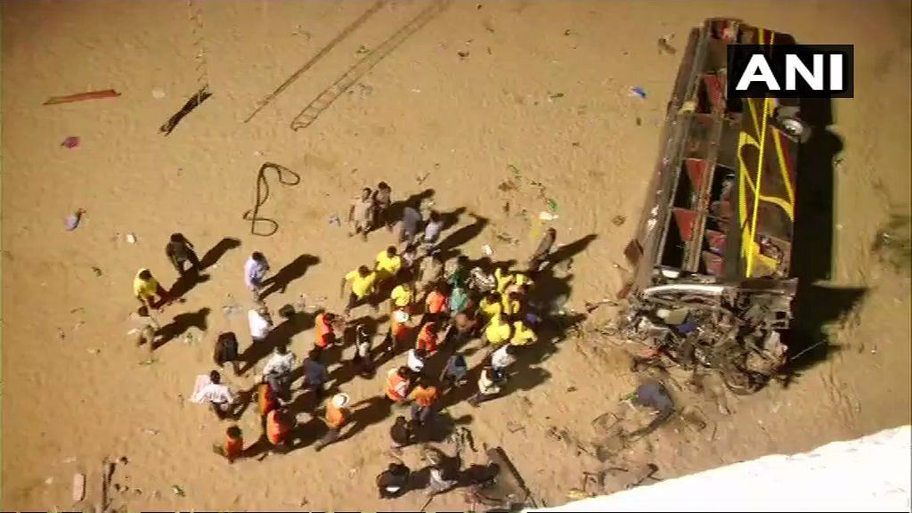 The rescue operations are underway.