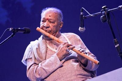 Hariprasad Chaurasia. (Photo: bdnews/IANS)