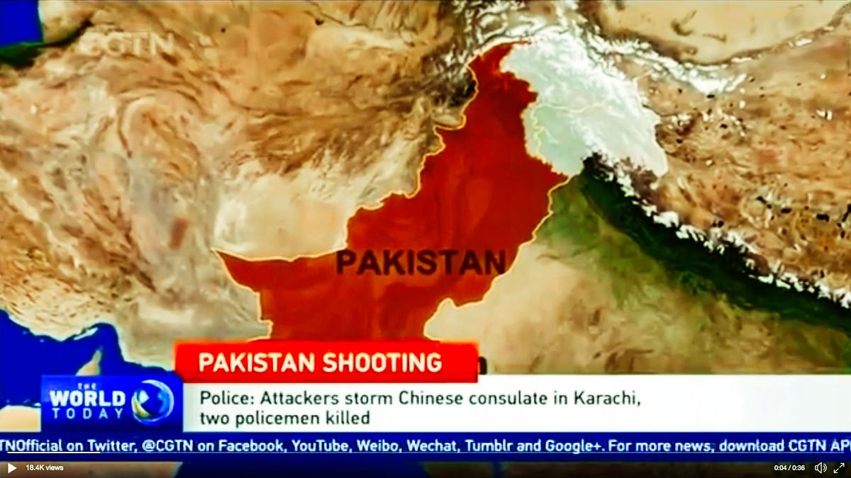 Chinese TV Shows Pakistan-Occupied Kashmir as Part of India