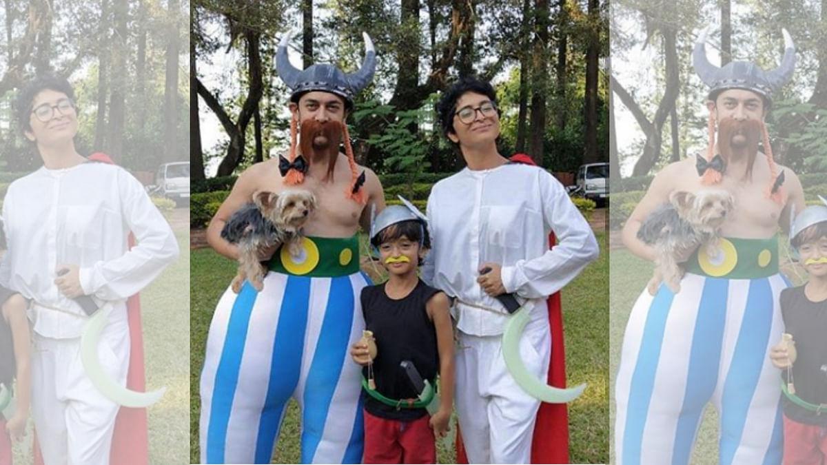 Pics: Aamir Khan & Kiran Rao's Asterix-Themed Party for Son Azad