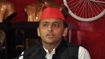 File photo of Samajwadi Party chief Akhilesh Yadav.