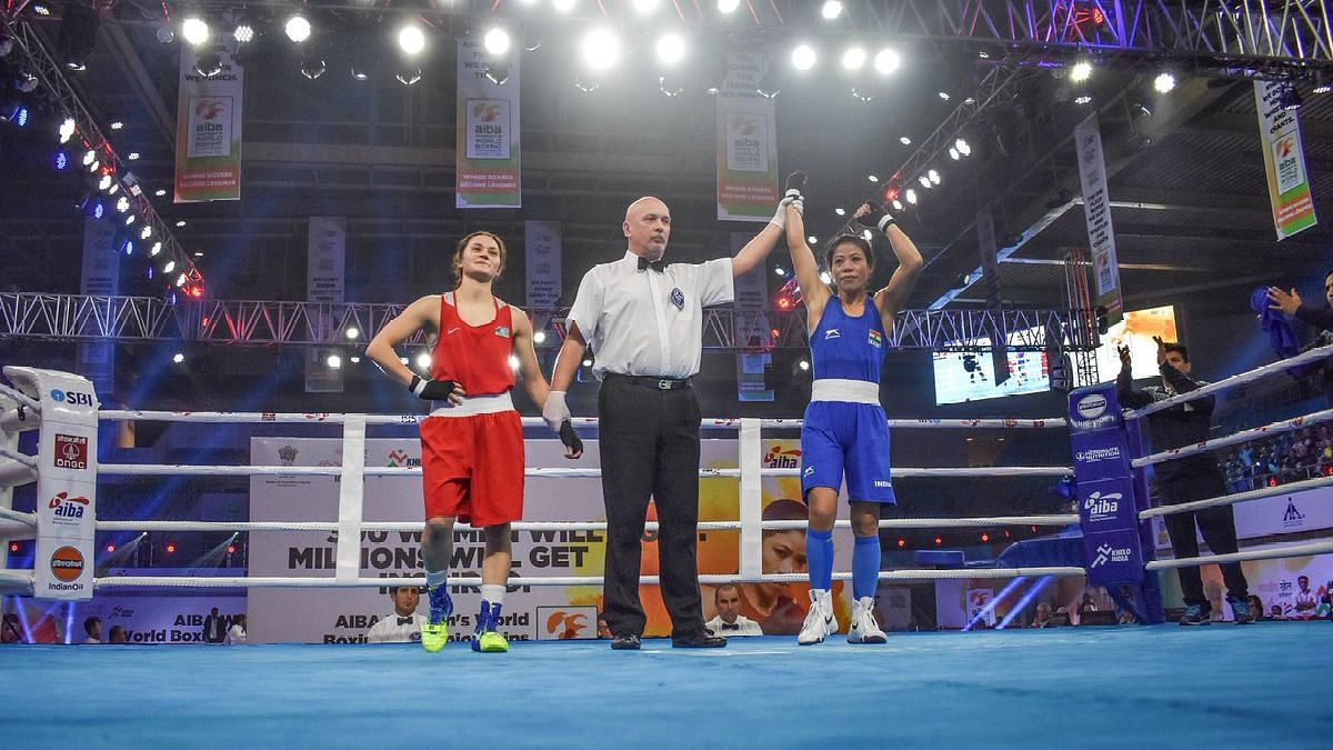 Here's Why MC Mary Kom Was Asked to Change Her Jersey Minutes Before Her Bout