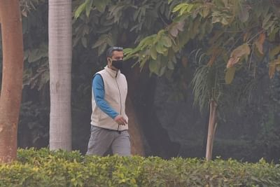 """The national capital and the regions around it saw a slight improvement in air quality on Wednesday morning from """"severe"""" to """"very poor"""" due to overnight rain which may continue on Wednesday. (Photo: IANS)"""