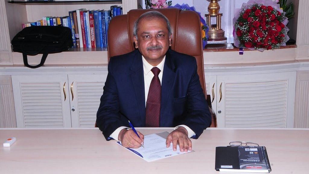 HAL's Chairman and Managing Director R Madhavan.