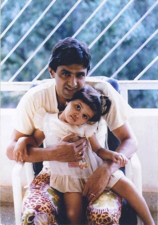Deepika Padukone as a baby.