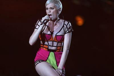English singer Jessie J. (File Photo: IANS/EFE/Marcelo Sayao