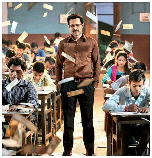Emraan Hashmi on the poster of <i>Cheat India</i>.