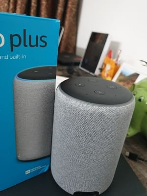 The All-New Amazon Echo Plus (2nd Gen) can connect several IoT devices at home, apart from reading you news or playing songs with a smarter Alexa. (Photos: IANS)