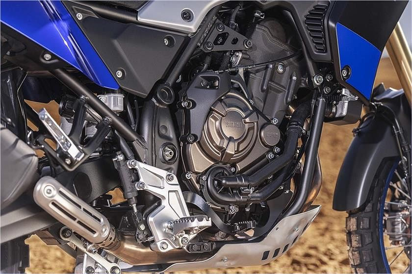 The Yamaha Tenere comes with a 689cc parallel-twin engine.