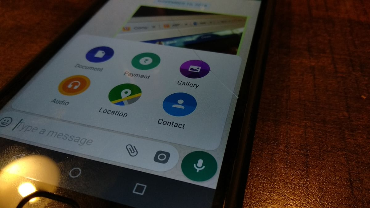 WhatsApp allows sharing of contacts to users on iOS and Android.