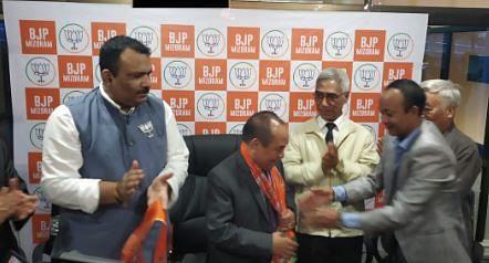Congress Leader Hiphei Resigns as Mizoram Speaker, Joins BJP
