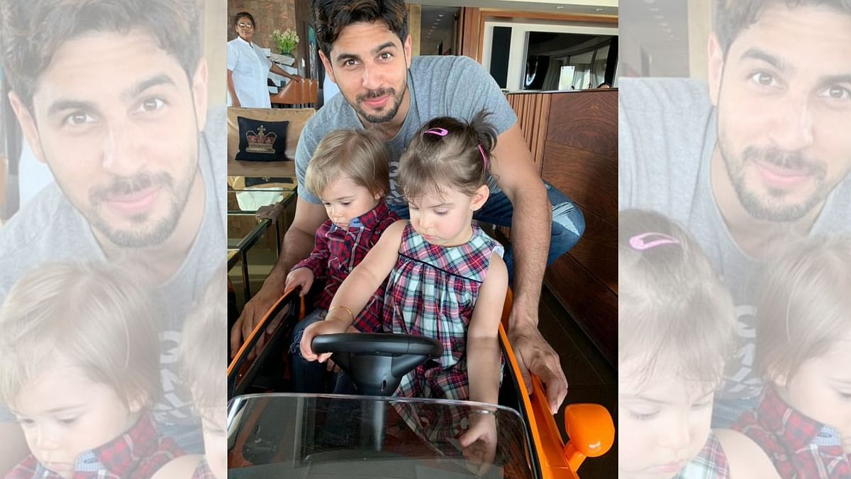 Look Who Dropped in to Play With Karan Johar's Little Twins!