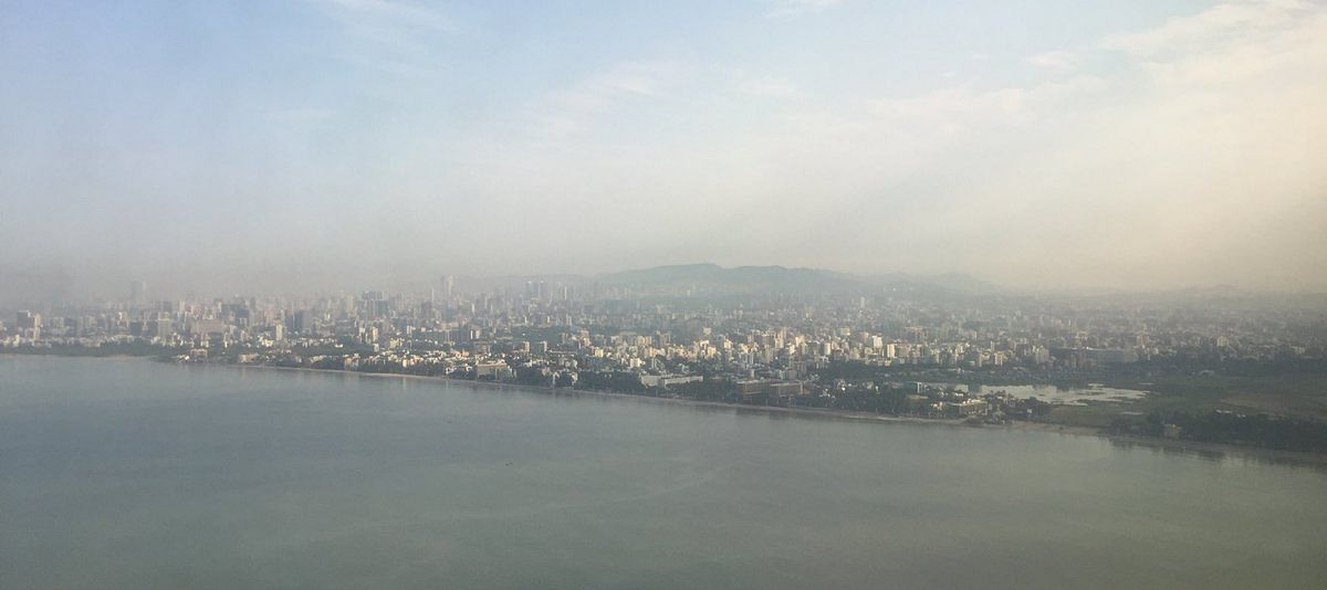 A polluted Mumbai is on the horizon this Diwali.