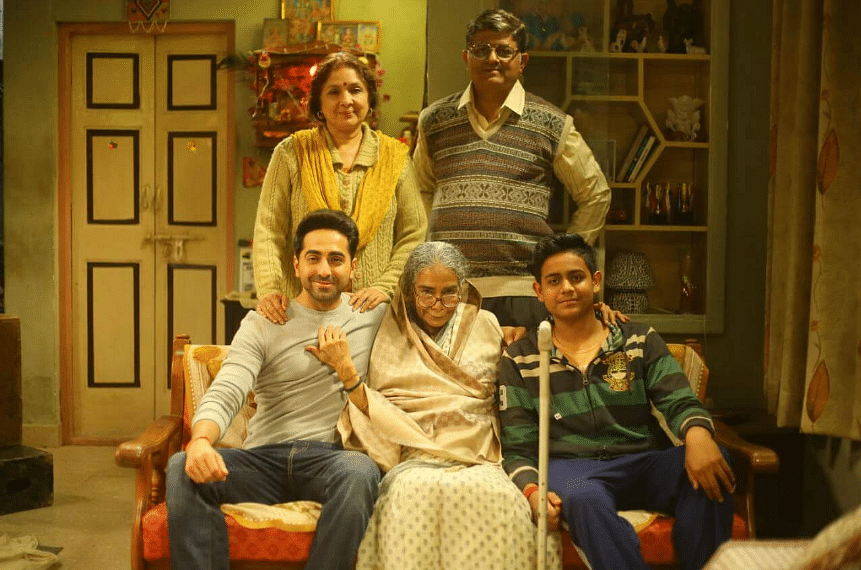 In the refreshingly quirky film, Nakul stops talking to his parents – both well over 50 – for having conceived a baby.