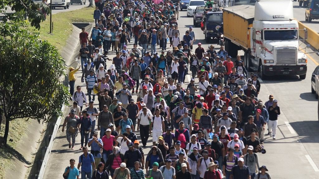 In Photos: Hunger, Panic & Prayers As Migrant Caravan Inches to US
