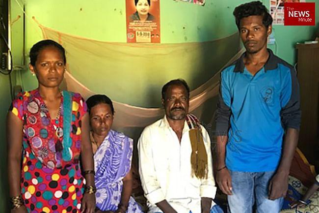 Photo of Nandesh's family.