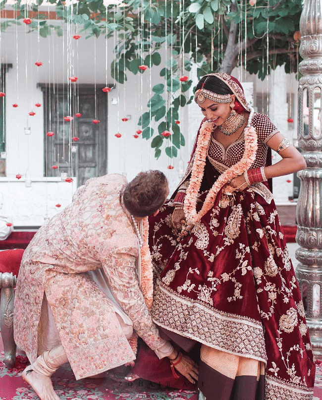 Husband Touches Wife's Feet to Mark Respect and We Went Aww...