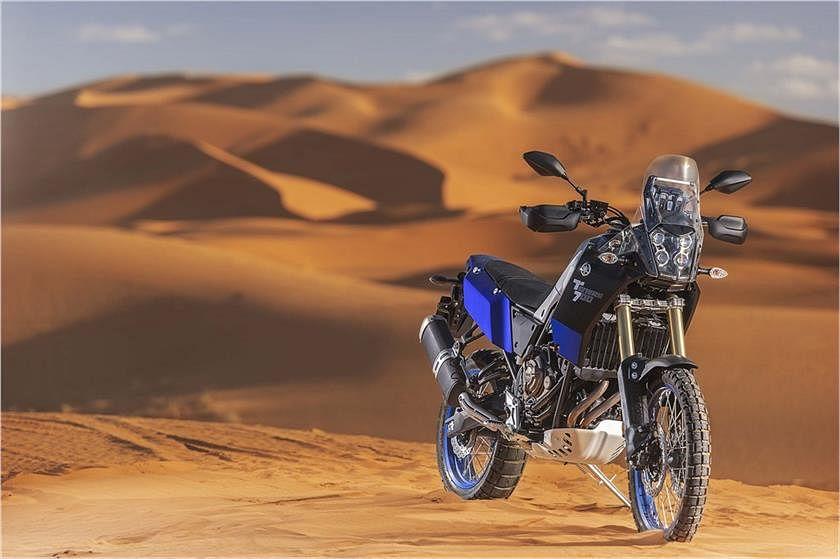 The Yamaha Tenere 700.