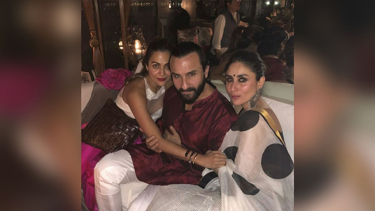 Kareena Kapoor celebrated Diwali with close friends and family.