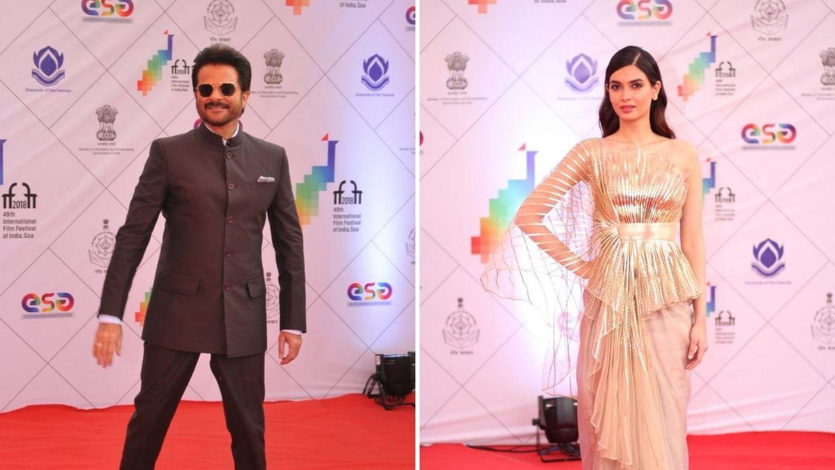Anil Kapoor & Diana Penty Shine at the IFFI 2018 Closing Ceremony