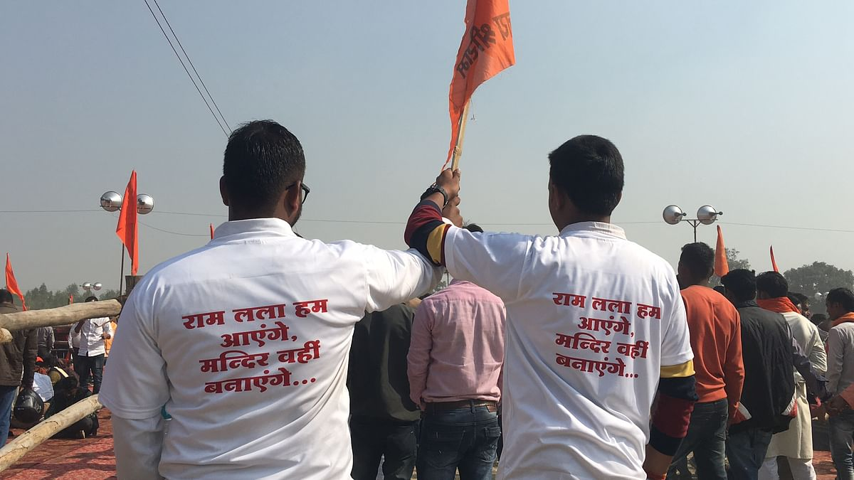 A Sadhu Threatens to Self-Immolate If Ram Mandir Isn't Built Soon