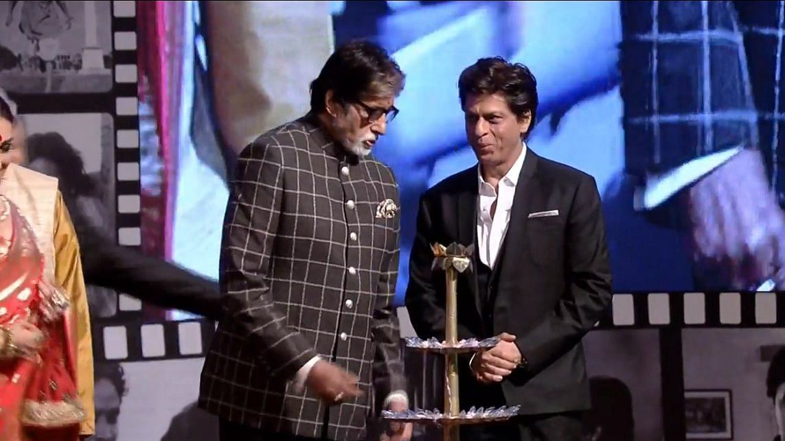 Shah Rukh Khan and Amitabh Bachchan at KIFF.