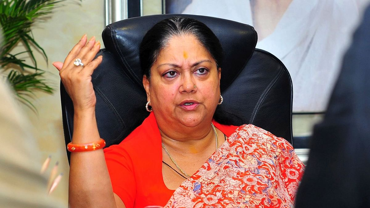 Rajasthan Guv Accuses Raje-Led BJP Govt of Getting 'Distracted'
