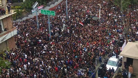 On Tuesday, 6 November, over 40,000 people held a rally in Aizawl, demanding Shashank's removal.