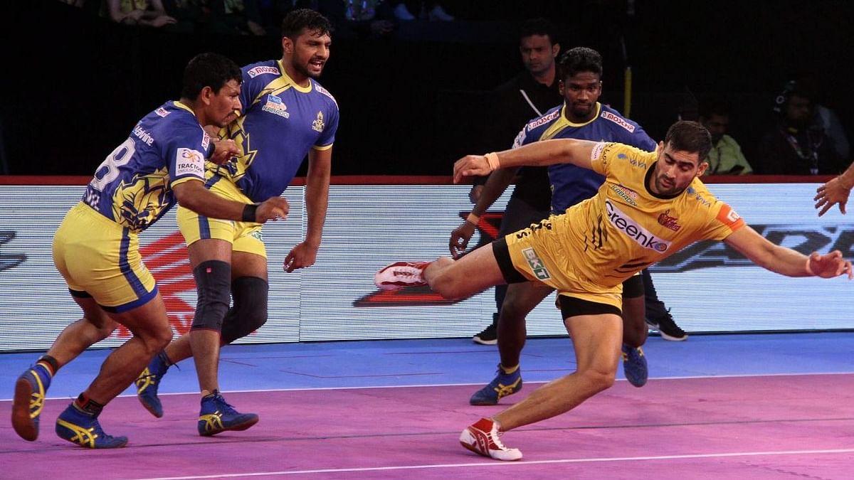 Pro Kabaddi: Tamil Thalaivas Win Comfortably Against Telugu Titans