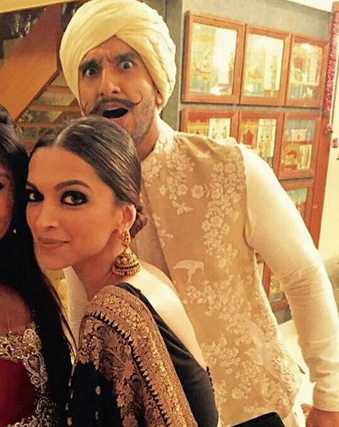 Ranveer Singh and Deepika Padukone tie the knot.