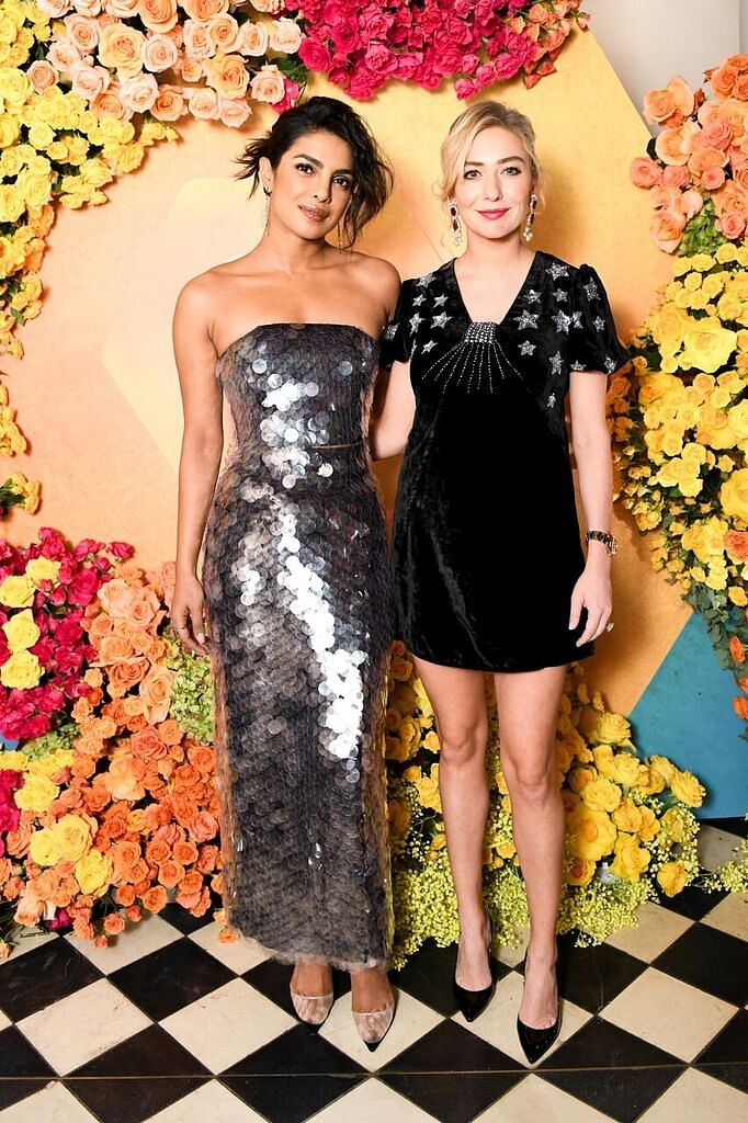 Priyanka Chopra and Whitney Wolfe Herd hosted a private dinner.