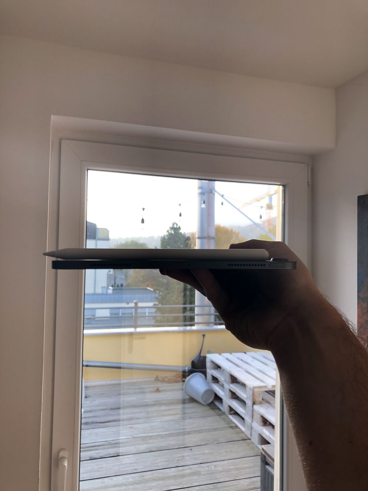 The user who said that he got a bent iPad Pro out of the box.