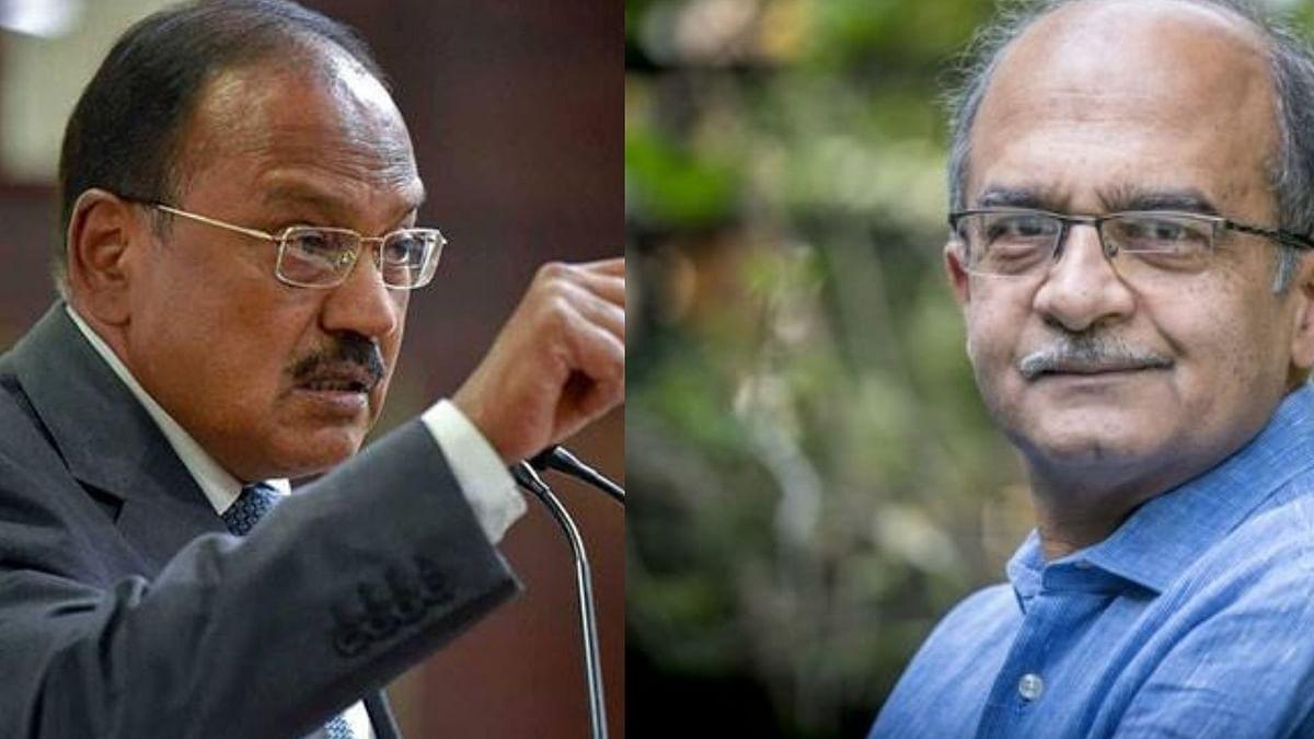 Ajit Doval Illegally Negotiated in Rafale Deal: Prashant Bhushan